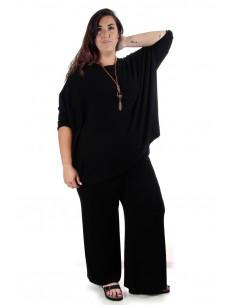 Conjunto punto oversized negro