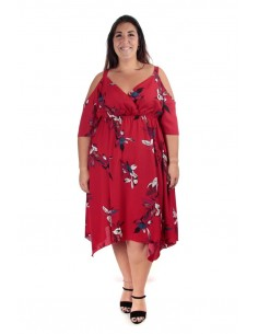 Vestido Miranda rojo