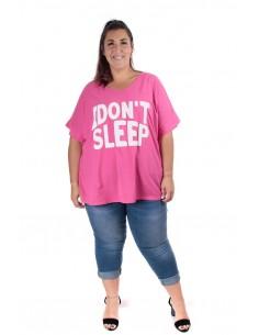 Camiseta Sueño fucsia