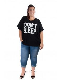 Camiseta Sueño negra