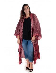 Kimono Bombay en seda