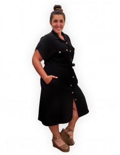 Vestido Sáhara negro