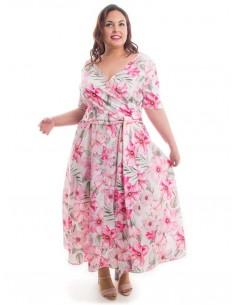 Vestido fiesta plus size Cala