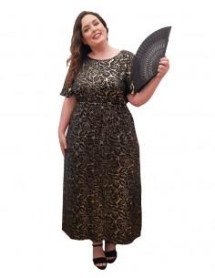 Vestido fiesta plus size Grecia