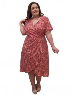 Vestido fiesta plus size May