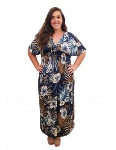 Vestido Bali azul