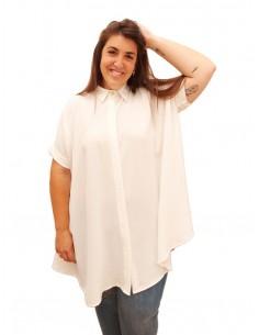 Blusón Oversized Blanco PREMIUM