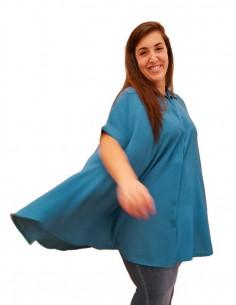 Blusón Oversized Azul PREMIUM