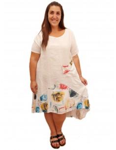 Vestido Pilar blanco