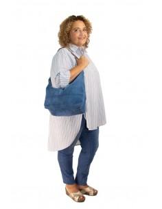 Bolso saco azul