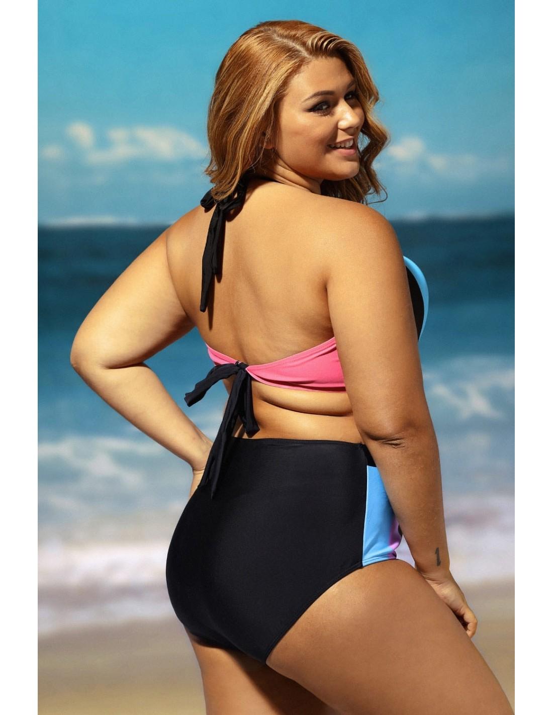 Comprar Bikini Multicolor En Talla Grande Online Zadeshop