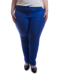 Pantalón azul tipo jean