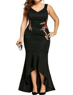 Vestido ceremonia tallas grandes Brenda