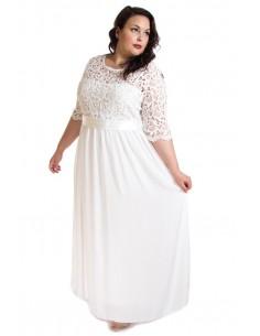 Vestido ceremonia blanco