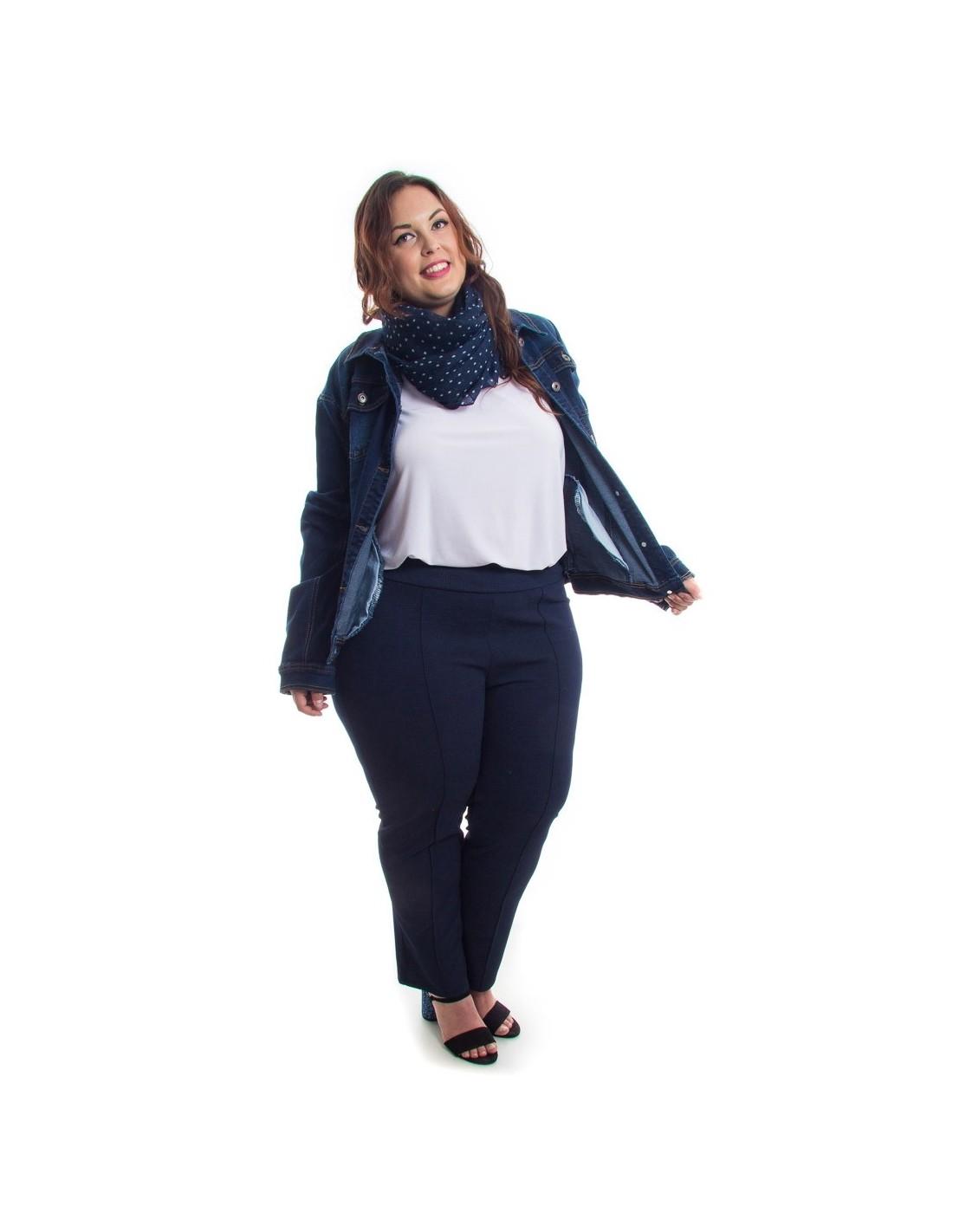 Comprar Cazadora Vaquera Oscura Para Mujer Con Talla Grande Online