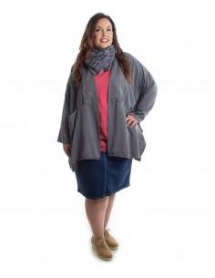 Americana oversized gris