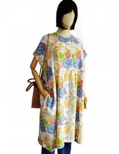 Vestido oversized Fleur