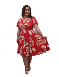 Vestido Betty rojo