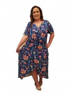 Vestido tallas grandes Lesley
