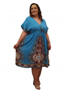 Vestido May azul