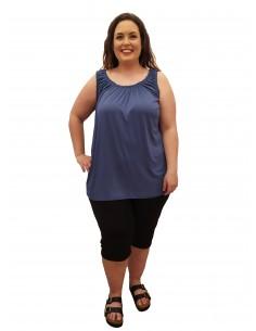 Pantalón Basic corto azul marino