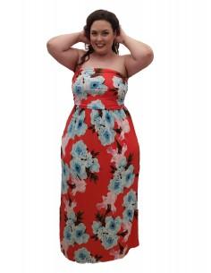 Vestido Jessa rojo