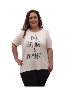 Camiseta FEMALE blanca