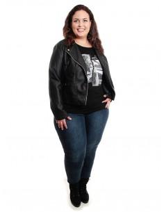 Camiseta Reyes en negro