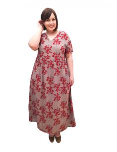 Vestido plus size Kira