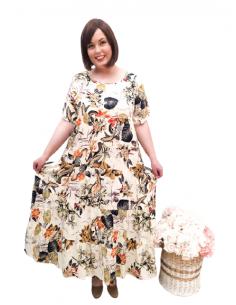 Vestido plus size CHIARA