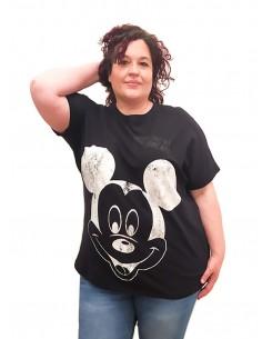 Camiseta Mouse negra